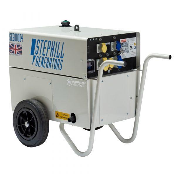 Stephill SE6000D4 6kVA Silenced Diesel Generator