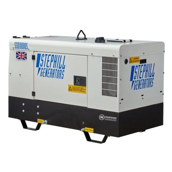 Stephill SSD10000S 10 kVA Diesel Generator Rear View