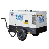 Stephill SSD10000S 10 kVA Diesel Generator on Trolley Rear View