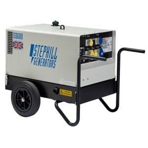 Stephill SSD6000 6 kVA Silenced Diesel Generator