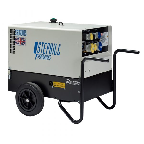 Stephill SSD6000S 6 kVA Diesel Generator