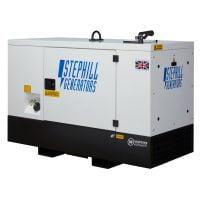 Stephill SSDK16M 16 kVA Diesel Generator Rear View