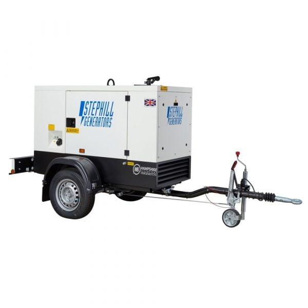 Stephill SSDK16M 62 kVA Diesel Generator On Highway Trailer