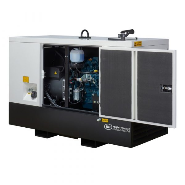 Stephill SSDK20M 20 kVA Diesel Generator Inside The Generator Rear View