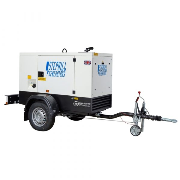 Stephill SSDK20M 20 kVA Diesel Generator On Highway Trailer