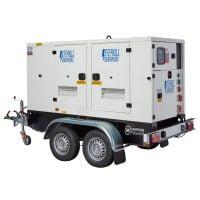 Stephill SSDP120A 117 kVA Perkins Diesel Generator On Highway Trailer
