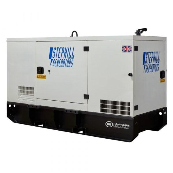 Stephill SSDP70A 67 kVA Perkins Diesel Generator Rear View
