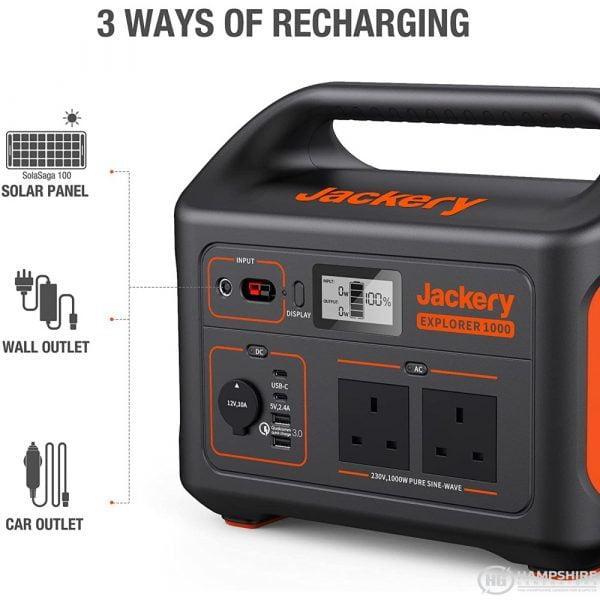Jackery Explorer 1000 Portable Power Station Info