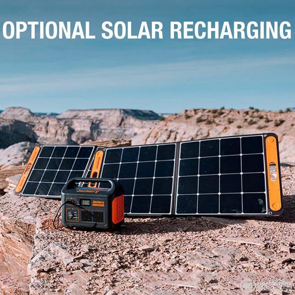 Jackery Explorer 1000 Portable Power Station Solar Option