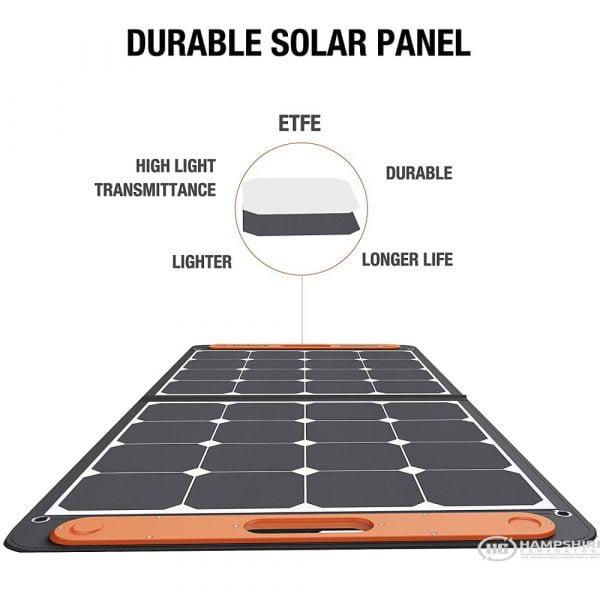 Jackery SolarSaga 100W Solar Panel Construction