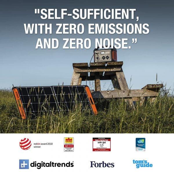 Jackery SolarSaga 100W Solar Panel reviews